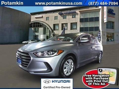 2017 Hyundai Elantra for sale in New York, NY