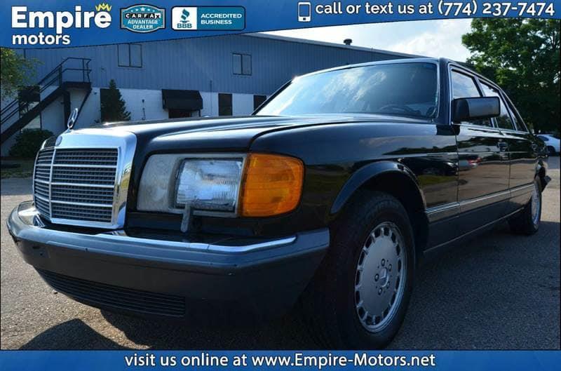 1989 mercedes benz 560 class for sale in massachusetts for Mercedes benz in massachusetts