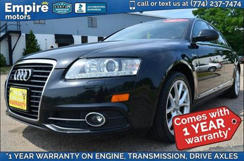 2011 Audi A6 for sale in Canton, MA