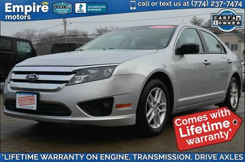 2010 Ford Fusion for sale in Canton, MA