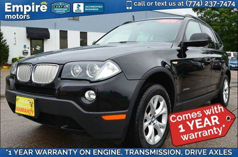 2010 BMW X3 for sale in Canton, MA