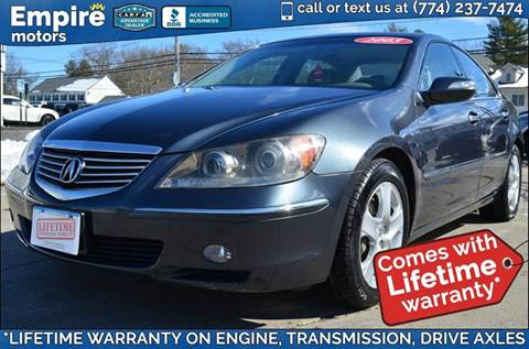 2005 Acura RL for sale in Canton, MA