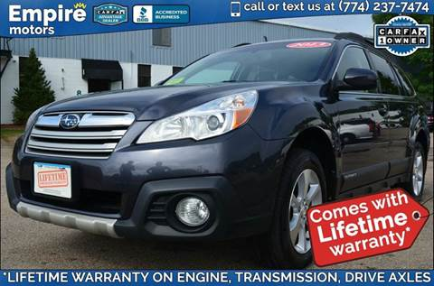 2013 Subaru Outback for sale in Canton, MA