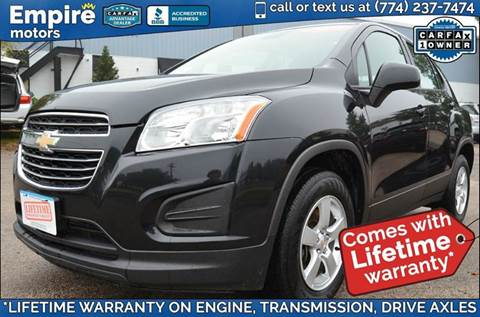2015 Chevrolet Trax for sale in Canton, MA