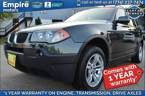 2005 BMW X3 for sale in Canton, MA