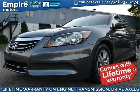 2011 Honda Accord for sale in Canton, MA