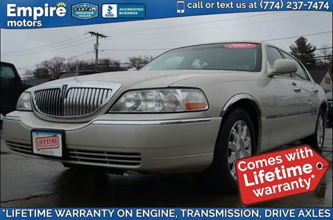 2007 Lincoln Town Car for sale in Canton, MA