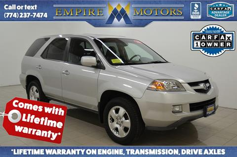 Empire Motors Used Cars Canton MA Dealer - Used acura for sale in ma