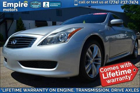 2010 Infiniti G37 Convertible for sale in Canton, MA