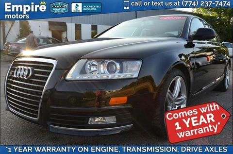 2010 Audi A6 for sale in Canton, MA
