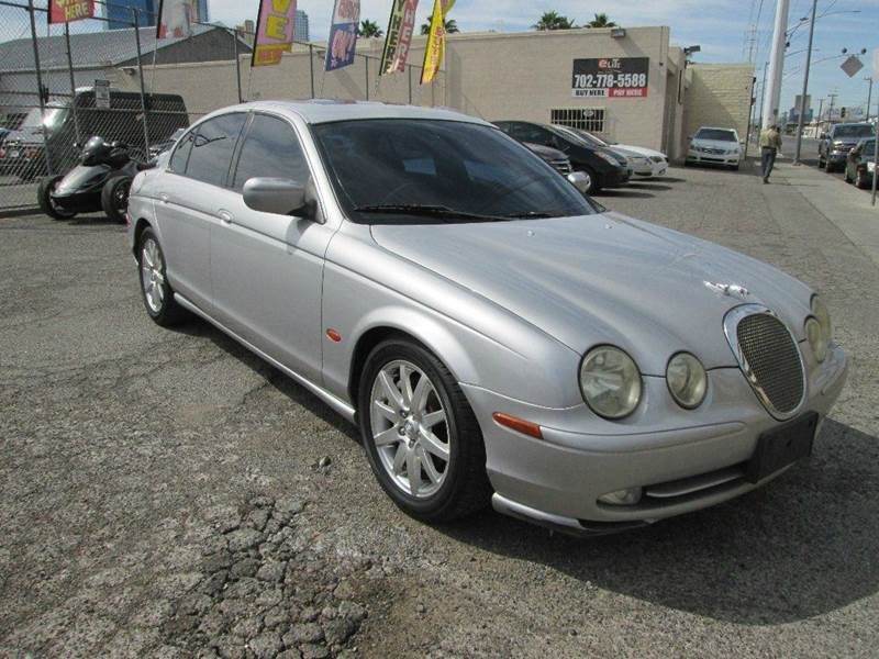 Used Cars in Las Vegas 2002 Jaguar S Type