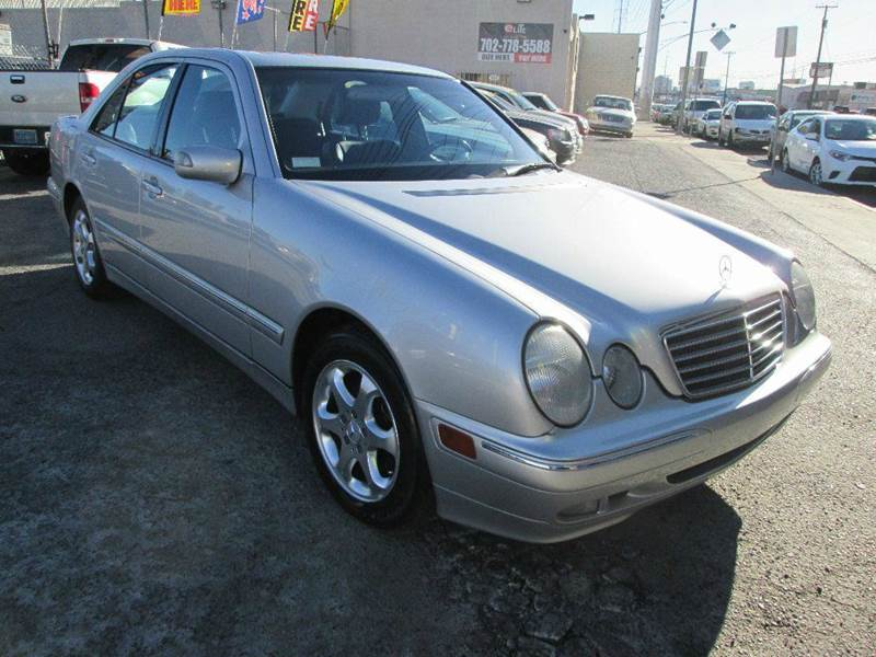 Used Cars in Las Vegas 2002 Mercedes Benz E-Class