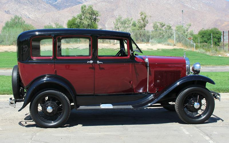 1931 ford model a for sale in california for Ford palm springs motors