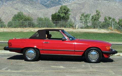 1989 Mercedes-Benz 560-Class for sale in Palm Springs, CA