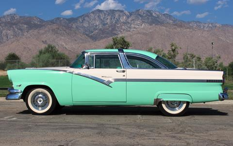 1956 ford fairlane for sale for Ford palm springs motors