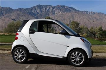 2012 Smart fortwo for sale in Palm Springs, CA