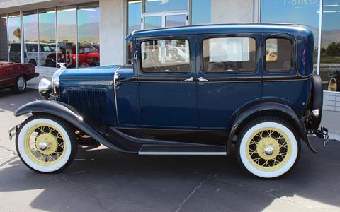 Ford model a for sale in california for Ford palm springs motors