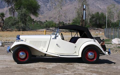 1952 MG TD for sale in Palm Springs, CA