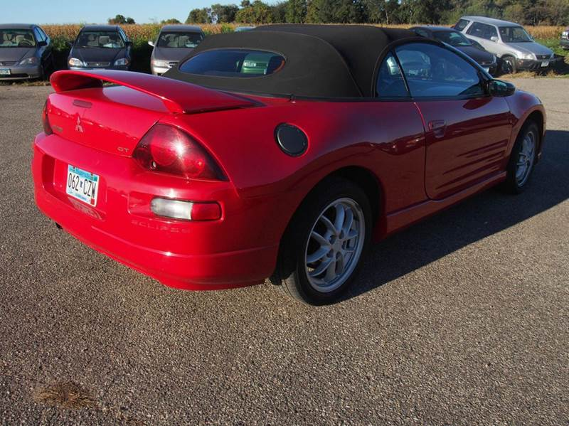 2001 Mitsubishi Eclipse Spyder Gt 2dr Convertible In