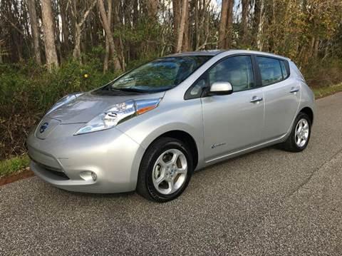 2013 Nissan LEAF for sale in Lutz, FL