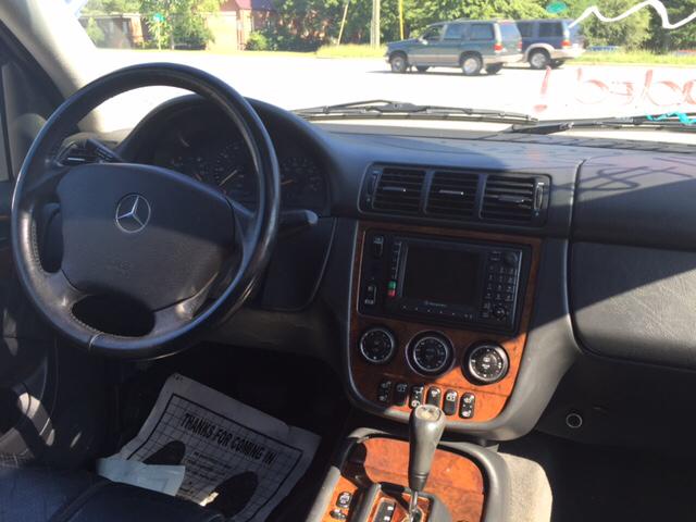 2002 Mercedes-Benz M-Class AWD ML320 4MATIC 4dr SUV - Greenville NC