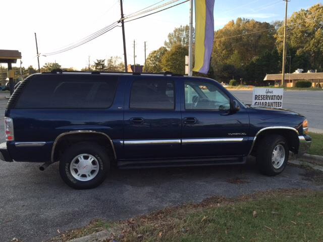 2001 GMC Yukon XL 1500 SLT 2WD 4dr SUV - Greenville NC
