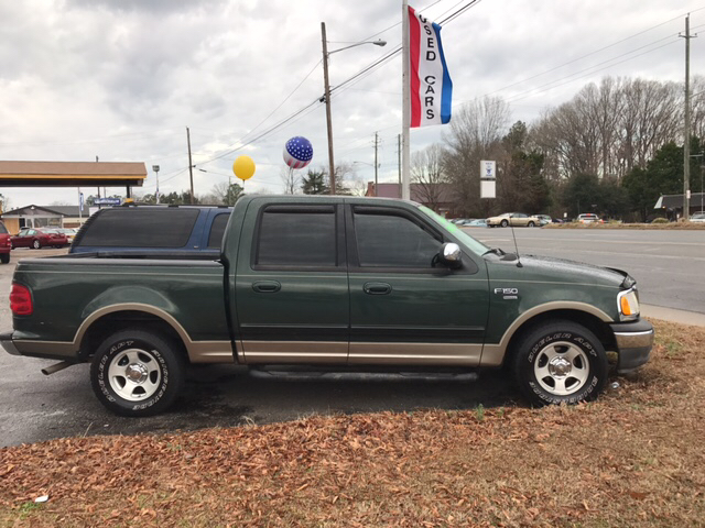 2002 Ford F-150 4dr SuperCrew XLT 2WD Styleside SB - Greenville NC