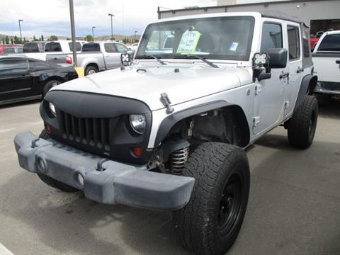 2012 Jeep Wrangler Unlimited for sale in Elko, NV