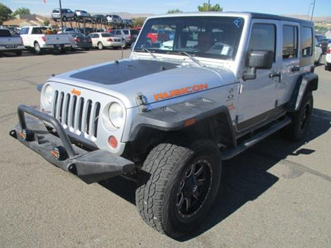 2009 Jeep Wrangler Unlimited for sale in Elko, NV