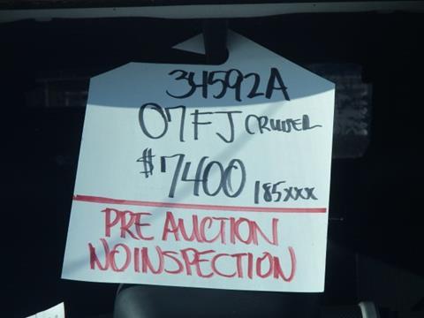2007 Toyota FJ Cruiser for sale in Elko, NV