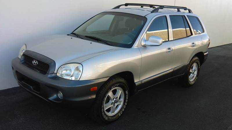 Used Cars in Las Vegas 2003 Hyundai Santa Fe
