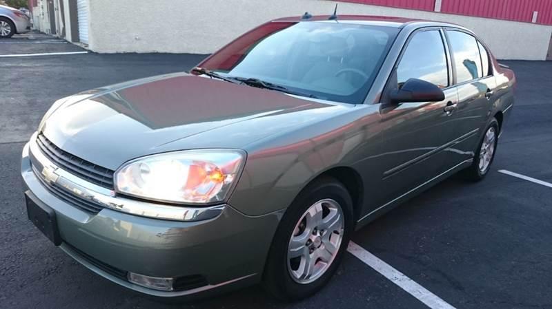 Used Cars in Las Vegas 2004 Chevrolet Malibu