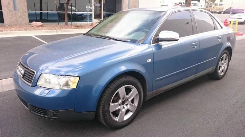 Used Cars in Las Vegas 2002 Audi A4