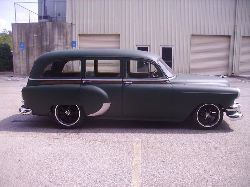 1954 Chevrolet Bel Air Wagon In Bremen GA - Big O Street Rods