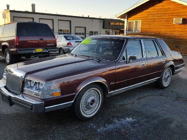 1985 lincoln continental givenchy givenchy 4dr sedan in puyallup wa austin 39 s auto sales. Black Bedroom Furniture Sets. Home Design Ideas