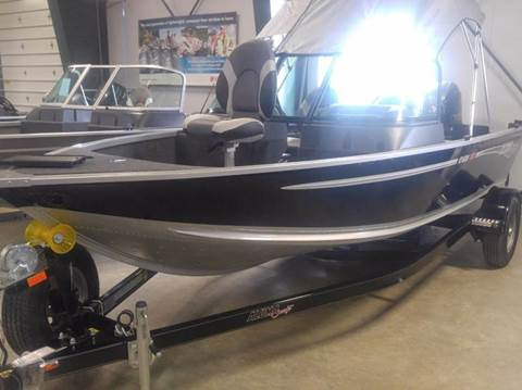 2017 Alumacraft Voyager 175 for sale in Townsend, MT
