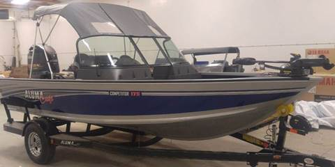 2017 Alumacraft Competitor 175 for sale in Townsend, MT