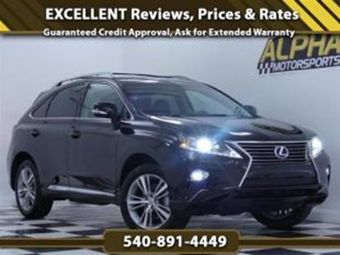 2015 Lexus RX 450h For Sale In Fredericksburg, VA