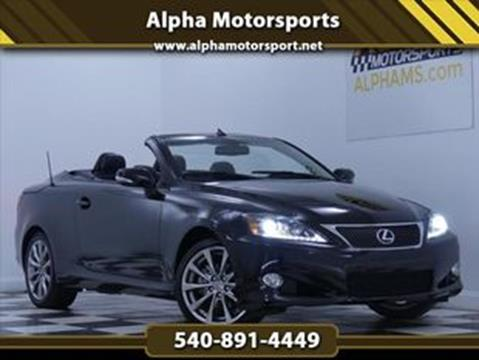 used lexus is 250c for sale - carsforsale®