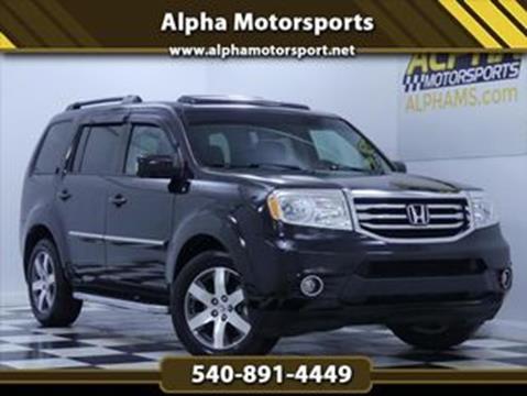 2015 Honda Pilot For Sale >> 2015 Honda Pilot For Sale In Fredericksburg Va