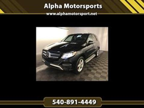 2016 Mercedes-Benz GLE for sale in Fredericksburg, VA