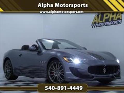 2014 Maserati GranTurismo For Sale In Fredericksburg, VA