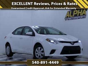 2014 Toyota Corolla for sale in Fredericksburg, VA