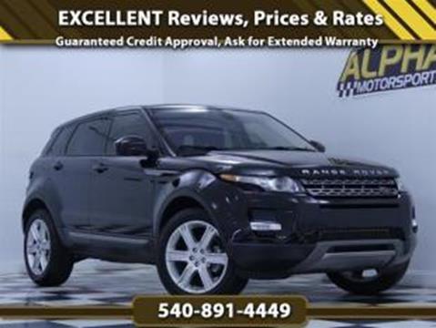 2015 Land Rover Range Rover Evoque for sale in Fredericksburg, VA