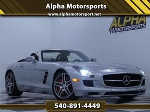 Mercedes Benz Sls Amg For Sale >> 2012 Mercedes Benz Sls Amg For Sale In Fredericksburg Va