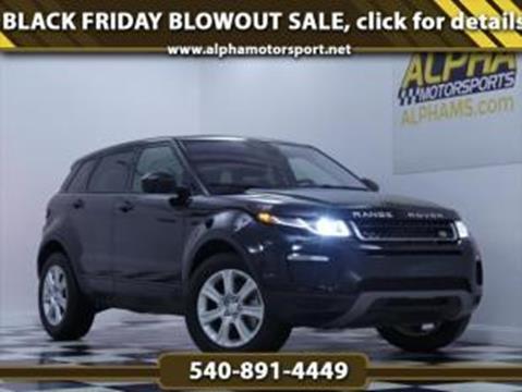2018 Land Rover Range Rover Evoque for sale in Fredericksburg, VA