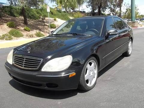 2000 Mercedes-Benz S-Class for sale in Stevenson Ranch, CA