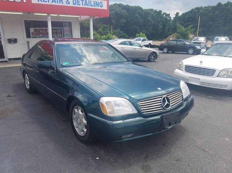 1995 mercedes benz s class s500 2dr coupe in warwick ri for Mercedes benz of warwick warwick ri