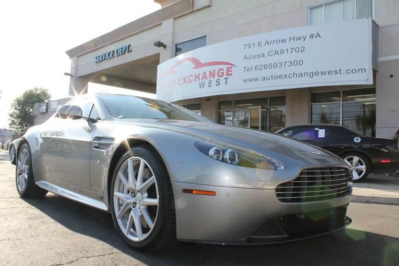 2012 Aston Martin V8 Vantage S 2dr Coupe In Azusa Ca Auto Exchange