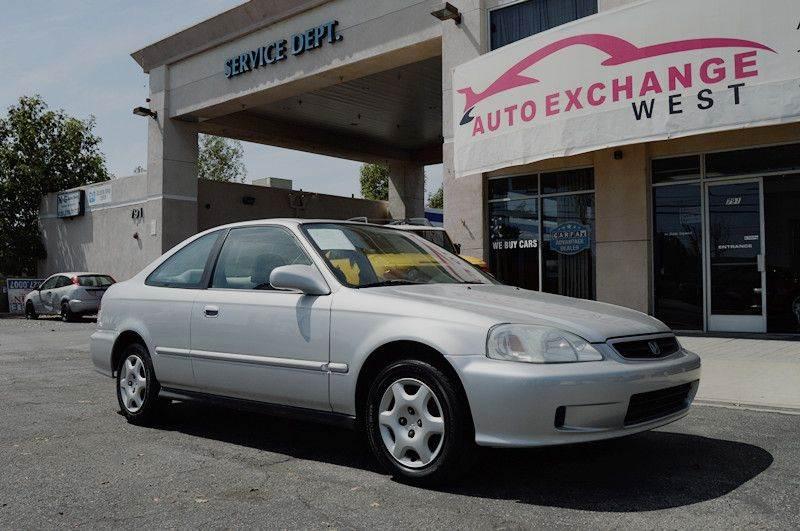 2000 Honda Civic EX 2dr Coupe   Azusa CA